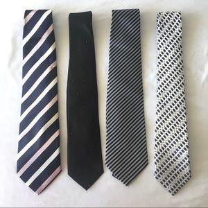 Other - BUNDLE of 4: Men's Ties
